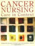 Book Cover Cancer Nursing