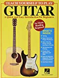 Book Cover Teach Yourself to Play Guitar: A Quick and Easy Introduction for Beginners