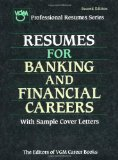 Book Cover Resumes for Banking and Financial Careers