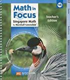 Book Cover Math in Focus: Teacher's Edition, Book B Grade 4 2009