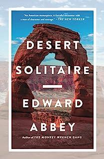 Book Cover Desert Solitaire