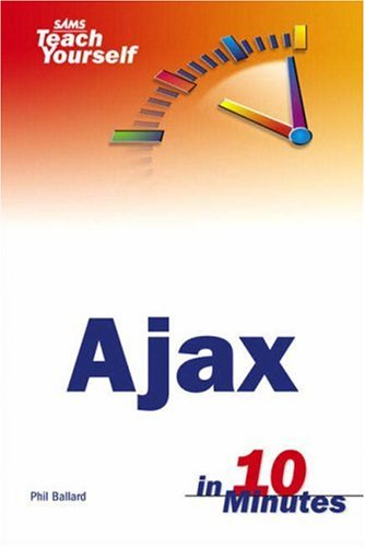 Book Cover Sams Teach Yourself AJAX in 10 Minutes