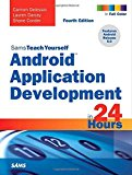 Book Cover Android Application Development in 24 Hours, Sams Teach Yourself (4th Edition)
