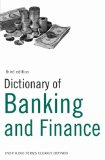 Book Cover Dictionary of Banking and Finance: Over 9,000 terms clearly defined