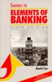 Book Cover Success in Elements of Banking (Success Studybooks)