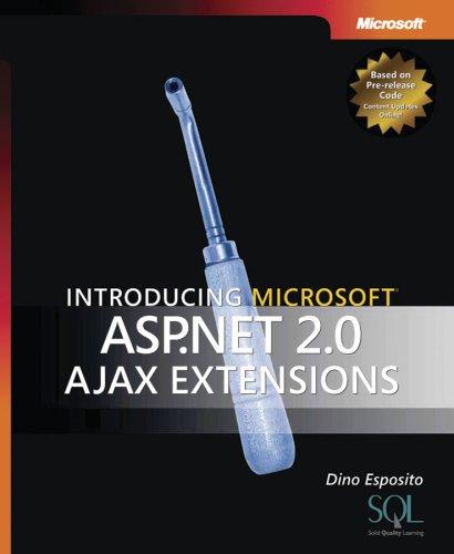 Book Cover Introducing Microsoft ASP.Net 2.0 Ajax Extensions