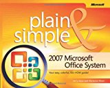 Book Cover 2007 Microsoft® Office System Plain & Simple