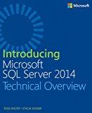 Book Cover Introducing Microsoft SQL Server 2014