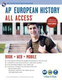 Book Cover AP® European History All Access Book + Online + Mobile (Advanced Placement (AP) All Access)