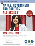 Book Cover AP® U.S. Government & Politics All Access Book + Online + Mobile (Advanced Placement (AP) All Access)