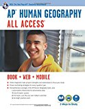 Book Cover AP® Human Geography All Access Book + Online + Mobile (Advanced Placement (AP) All Access)