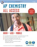 Book Cover AP® Chemistry All Access Book + Online + Mobile (Advanced Placement (AP) All Access)