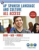Book Cover AP® Spanish Language and Culture All Access w/Audio: Book + Online + Mobile (Advanced Placement (AP) All Access) (English and Spanish Edition)