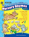 Book Cover Full-Color Literacy Centers & Activities for Nursery Rhymes Volume 1