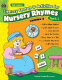 Book Cover Full-Color Literacy Centers & Activities for Nursery Rhymes Volume 2