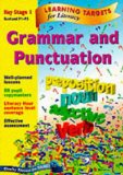 Book Cover Learning Targets - Grammar and Punctuation Key Stage 1 Scotland P1-P3