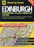 Book Cover AA Street by Street: Edinburgh, Dunfermline, Falkirk, Kirkcaldy, Stirling