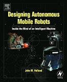 Book Cover Designing  Autonomous Mobile Robots: Inside the Mind of an Intelligent Machine