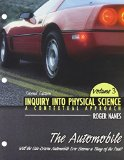 Book Cover Inquiry Into Physical Science: A Contextual Approach Volume 3: The Automobile: Will The Gasdrive Automobile Ever Become A Thing Of The Past?