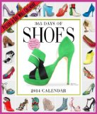 Book Cover 365 Days of Shoes 2014 Wall Calendar