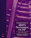 Book Cover Introduction to ABAP/4 Programming for SAP : The Complete Guide to Developing in the SAP Environment