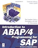 Book Cover Introduction to ABAP/4 Programming for SAP, Revised and Expanded Edition