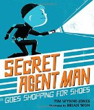 Book Cover Secret Agent Man Goes Shopping for Shoes