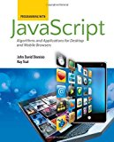 Book Cover Programming With Javascript: Algorithms And Applications For Desktop And Mobile Browsers