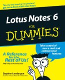 Book Cover Lotus Notes 6 For Dummies