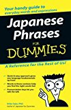 Book Cover Japanese Phrases For Dummies