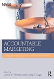 Book Cover Accountable Marketing: Linking marketing actions to financial performance
