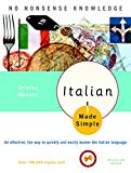 Book Cover Italian Made Simple: Revised and Updated
