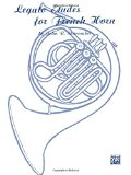 Book Cover Legato Etudes for French Horn