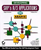 Book Cover Developing Saps R/3 Applications with ABAP/4 with CD-ROM