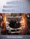 Book Cover Automobile Manufacturers Worldwide Registry