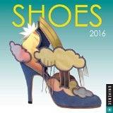 Book Cover Shoes 2016 Mini Wall Calendar