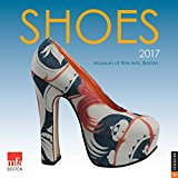 Book Cover Shoes 2017 Wall Calendar