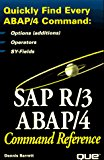Book Cover Sap R/3 Abap/4: Command Reference