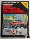 Book Cover Chilton's Guide to Chassis Electronics and Power Accessories (Automobile Repair & Maintenance Series)