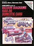 Book Cover Chilton's Guide to Vacuum Diagrams 1980-86 Domestic Cars: Vacuum Diagrams for 1980-86 Domestic Cars (Automobile Repair and Maintenance Series)