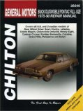 Book Cover GM Full-Size Buick, Oldsmobile, and Pontiac, 1975-90 (Chilton's Total Car Care Repair Manuals)