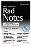 Book Cover Rad Notes: A Pocket Guide to Radiographic Procedures (Davis's Notes)