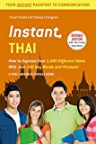 Book Cover Instant Thai: How to Express 1,000 Different Ideas with Just 100 Key Words and Phrases! (Thai Phrasebook) (Instant Phrasebook Series)