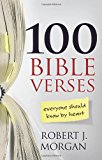 Book Cover 100 Bible Verses Everyone Should Know by Heart