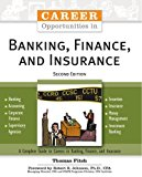 Book Cover Career Opportunities in Banking, Finance, and Insurance (Career Opportunities (Paperback))