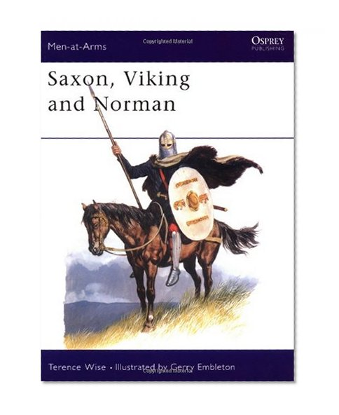 Book Cover Saxon, Viking and Norman (Men at Arms Series, 85)