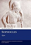 Book Cover Sophocles: Ajax (Aris & Phillips Classical Texts (Paperback)) (Ancient Greek Edition)