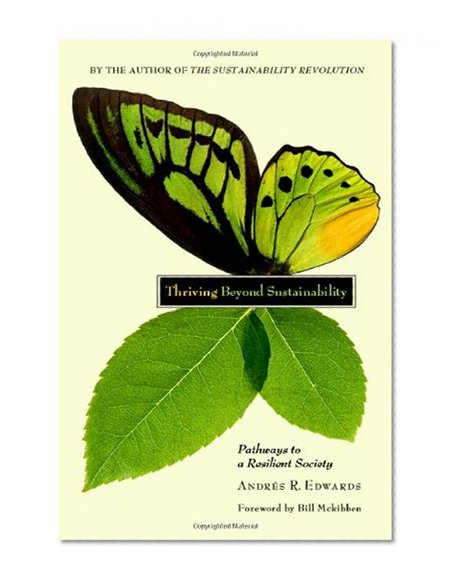 Book Cover Thriving Beyond Sustainability: Pathways to a Resilient Society