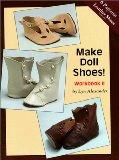 Book Cover Make Doll Shoes!  Workbook II