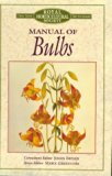 Book Cover Manual of Bulbs (Royal Horticultural Society)